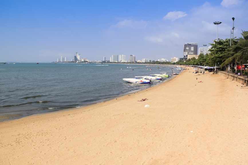 pattaya beach holiday thailand