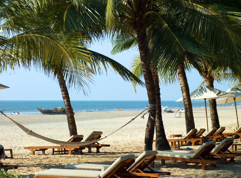 Пляж на ГОА. Индия.