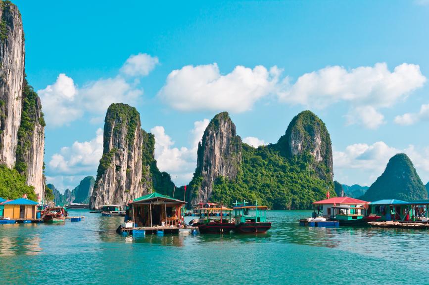 Пляж Халонг. Вьетнам.
