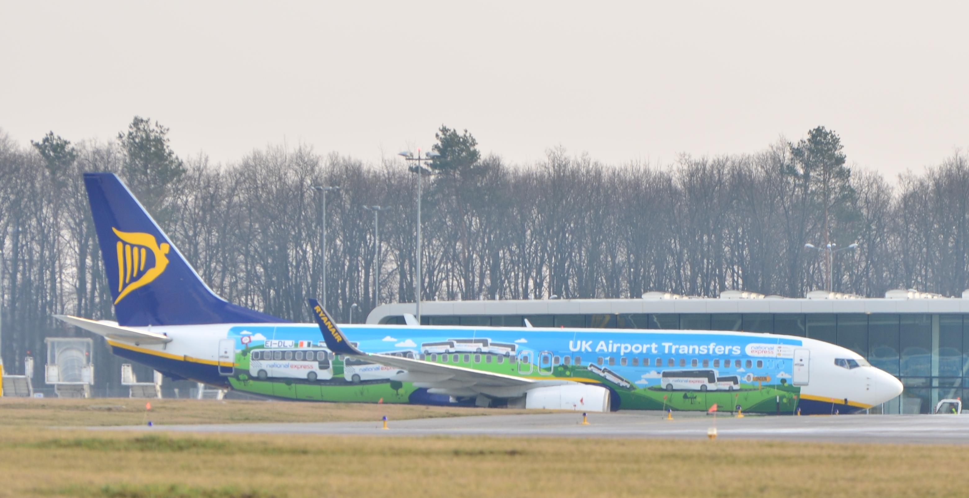 Ryanair Ураина